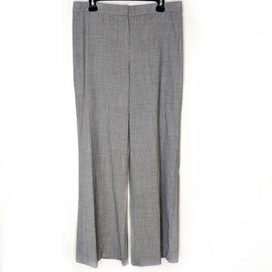 St. John Wool Grey Wide Leg Trouser Size 12